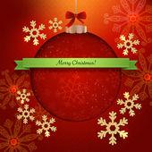Christmas modern poster  — Stock Vector