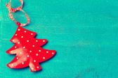 Christmas tree ornament — ストック写真
