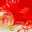 Stock Photo: Christmas decoration ball