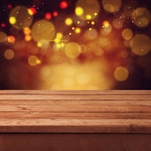 Christmas bokeh background — Stock Photo