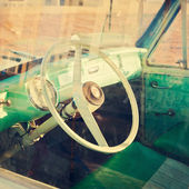 Vintage car detail — Photo