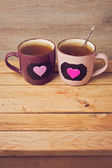 Couple of tea cups — Stock Photo