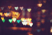 Heart bokeh background — Stock Photo
