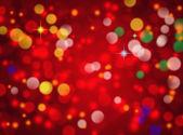 Streszczenie bokeh czerwone tło — Zdjęcie stockowe