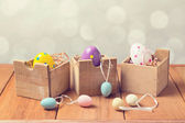 Easter eggs decorations — Stockfoto