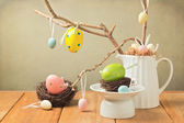 Easter eggs decorations — Stock Photo