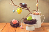 Easter eggs decorations  — Foto Stock