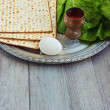 Jewish Passover seder celebration — Stock Photo #42173589