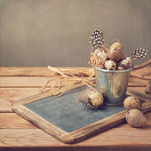 Easter holiday composition — Foto Stock