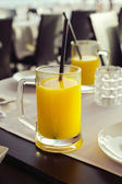 Bardak portakal suyu — Stok fotoğraf