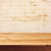 Old wooden table — Stock Photo