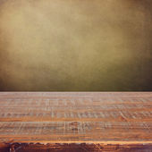 Vintage wooden table — Foto Stock
