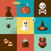 Halloween holiday modern design — Vetorial Stock