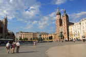 City Center of Krakow — Stock Photo