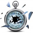 Royalty-Free Stock Vector Image: Broken stopwatch