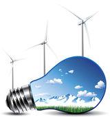 Lamp concept — Stock Vector