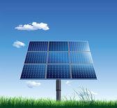 Solar panel — Stockvektor