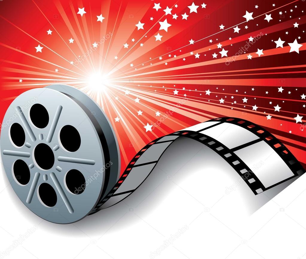 Cinema film roll — Stock Vector © kvadrat1 #21501399