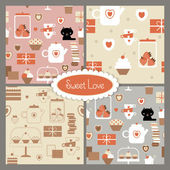 Sweet love — Stock Vector