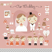 Wedding Day — Stock Vector