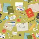 Modern school background — Stock Vector