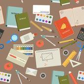 Contexte de l'école moderne — Vecteur