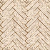 Vector seamless pattern. Doodle wood floor texture in brown. — Stock Vector