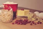 Healthy homemade granola — Stock Photo