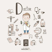 Doctor — Stock Vector