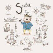 Sailor — Stock Vector