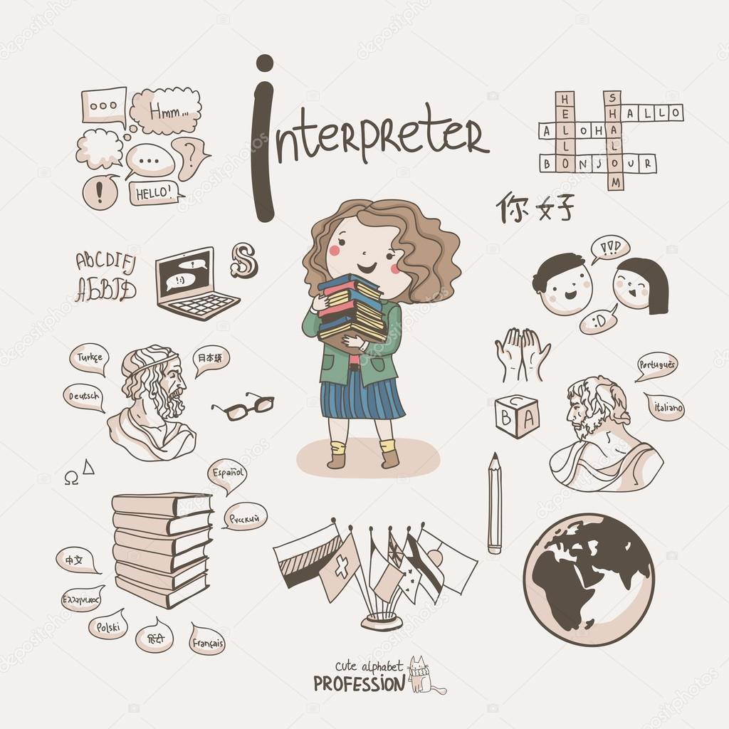using interpreters translators Working with an interpreter offers challenges interpreters on the whole have a  stressful job unlike translators they do not have the luxury of breaks and time to.
