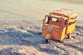 Toy car tuk-tuk taxi — Stock Photo