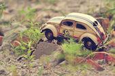 Vintage leksaksbil — Stockfoto