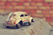 Vintage toy car — Stock Photo
