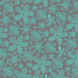 Seamless damask pattern for wallpaper design - Foto Stock