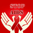 Stock Photo: Stop AIDS