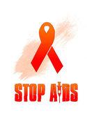 Stop AIDS — Stock Photo