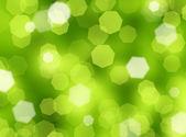 Green Bokeh background — Stock Photo