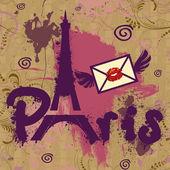 Paris - a city of love and romanticism — Stock Photo