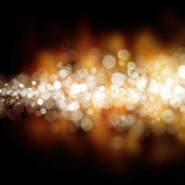 Bokeh golden background of design abstract — Stock Photo