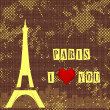 Stock Photo: Paris background