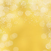 Yellow background with blur bokeh — Stock Photo