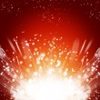 Abstract burst background — Stock Photo