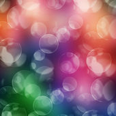 Colored bokeh background — Stock Photo