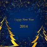 tarjeta de año nuevo — Foto de Stock