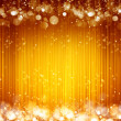 Sparkles yellow background — Stock Photo