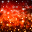 Red bokeh background — Stock Photo