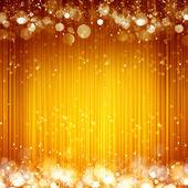 Sparkles yellow background — Stock Photo