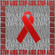 Stock Photo: Stop AIDS.