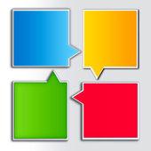 Papper information — Stockfoto